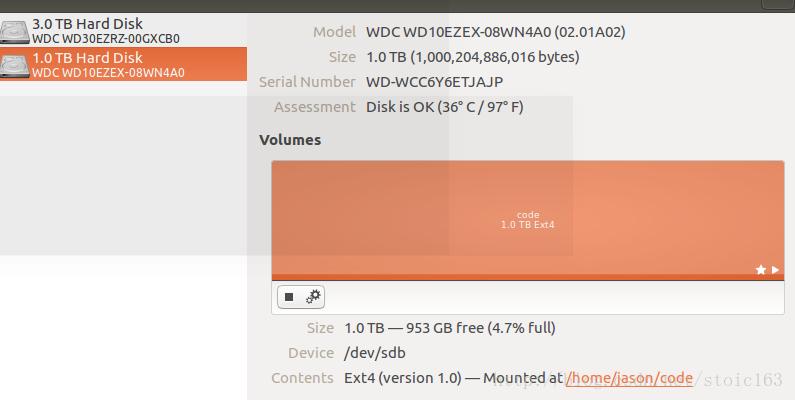 Ubuntu 16.04添加全新硬盘流程步骤