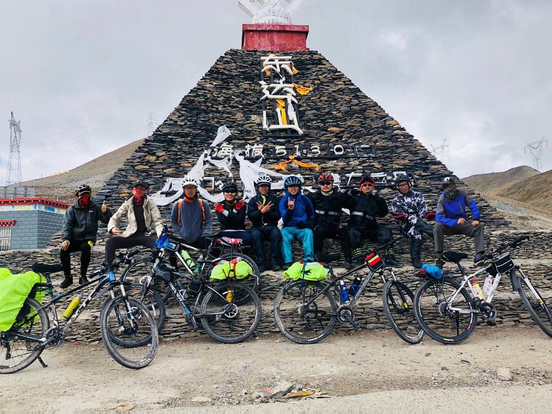 #青春万岁,追梦无罪#迟到的318川藏线Part17东达山:冰雹垭口东达山,缺氧海拔最高点